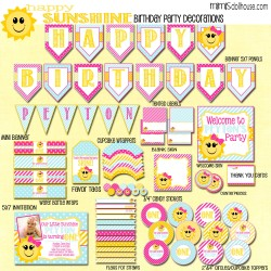 happy sunshine display file-pinkteal
