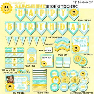 happy sunshine display file-tealblue