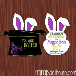 pocket invitation display