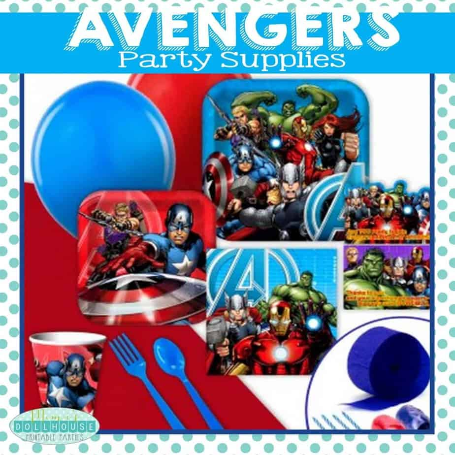 Superhero Party Avengers Birthday Party Ideas Mimis Dollhouse
