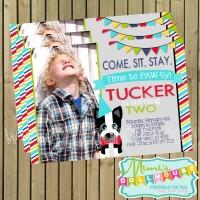 Dapper Puppy Invite Display Photo