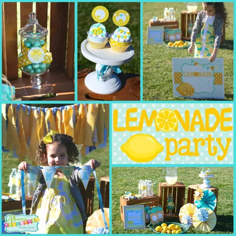 Lemonade Party: Emma's Old Fashioned Lemonade Stand