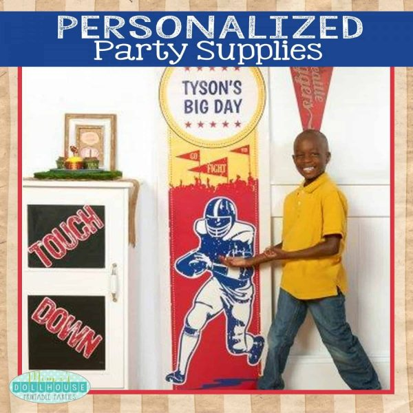 Personalized Party Supplies Pic
