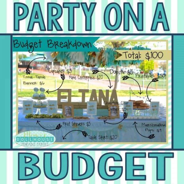 party on a budget-Mint Shamrock