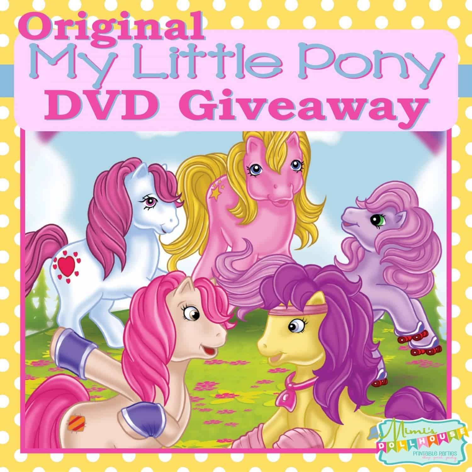 GIVEAWAY: Classic My Little Pony Tales DVD