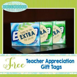 Teacher Tags-Extra