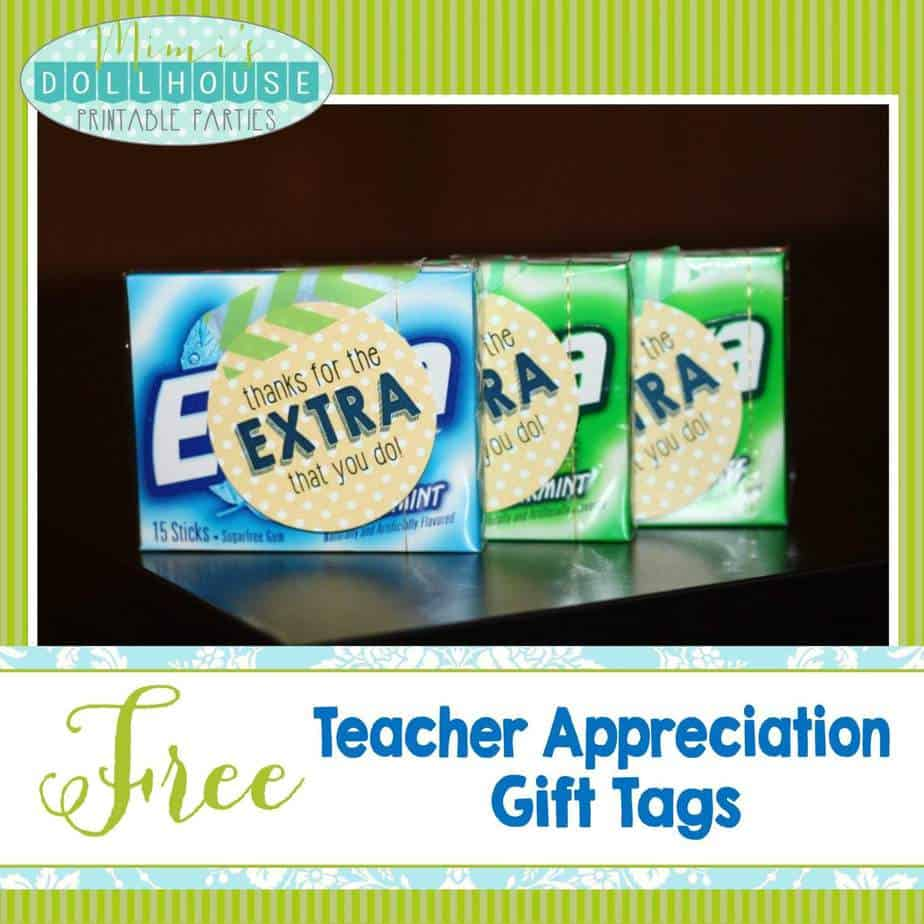 Teacher Appreciation Week Free Teacher Appreciation Gift