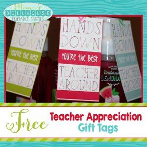 Teacher Tags-Hands