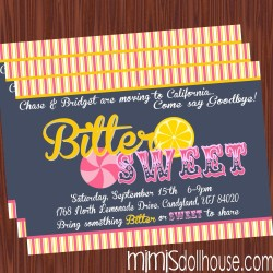 bittersweet invite display