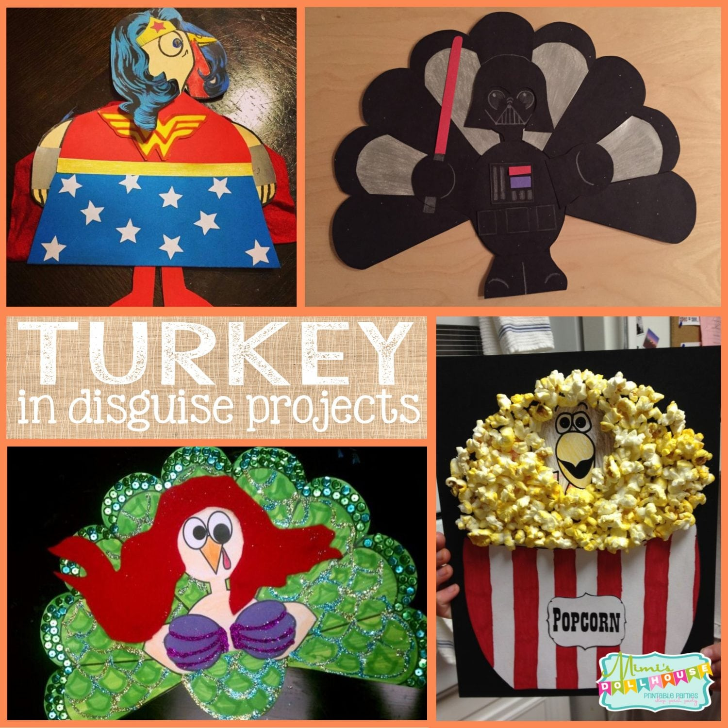 Thanksgiving: Turkey in Disguise School Project | Mimi\'s Dollhouse