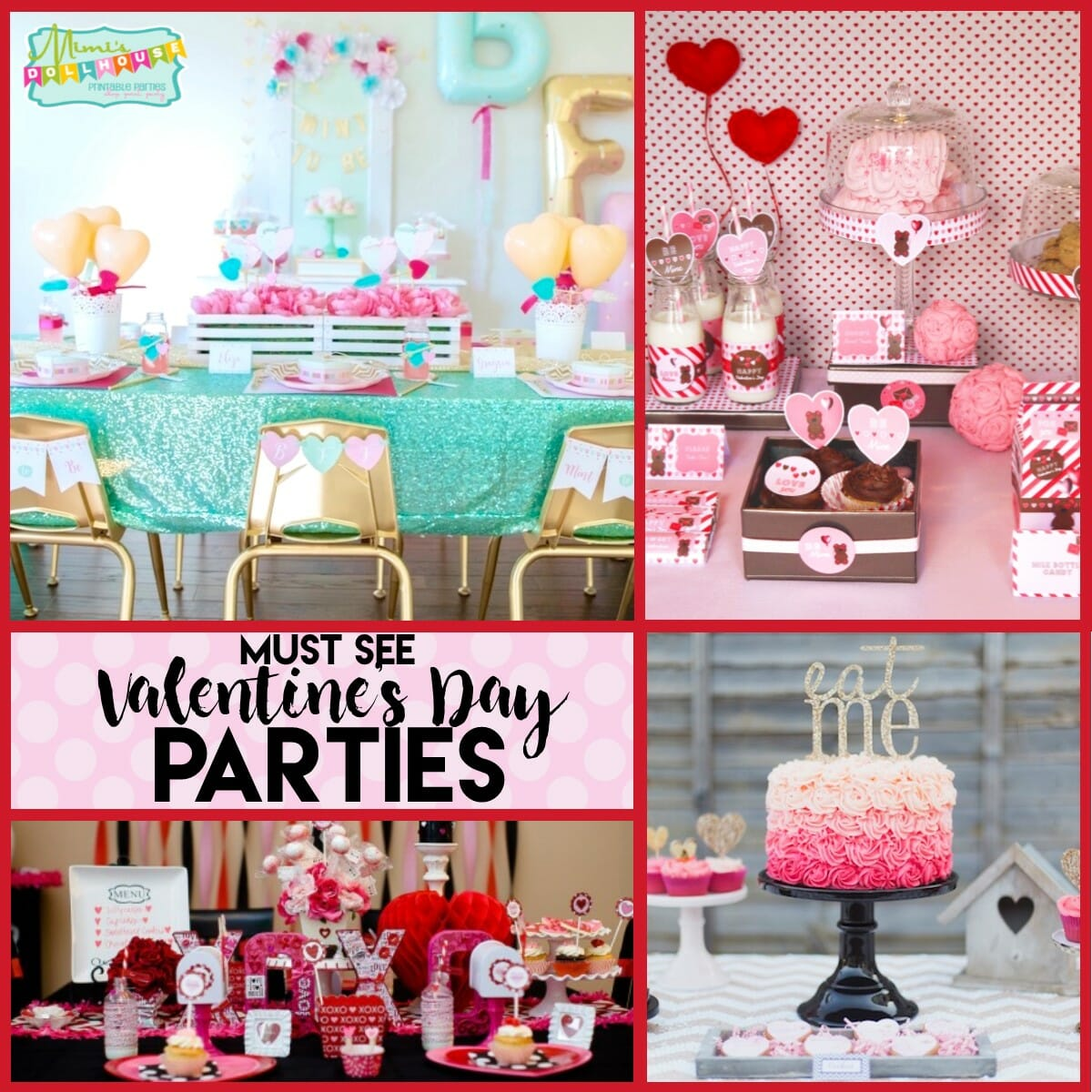 Valentine's Day Party: 10 Must See Valentine's Day Parties.