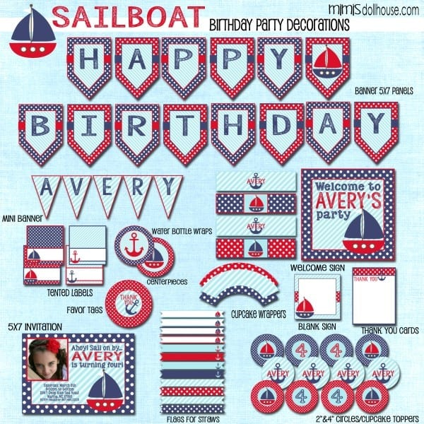 Sailboat display file