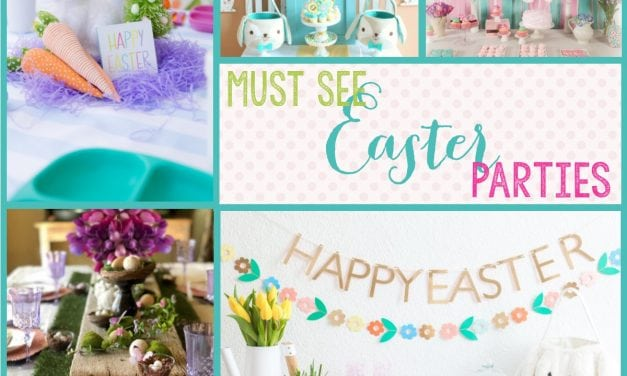 Easter themed party ideas: 10 must see Easter Parties for Spring