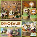 Dinosaur Party: Rustic Dinosaur Birthday Party Decorations