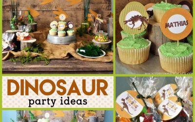 Dinosaur Party: Rustic DinosaurBirthdayParty Decorations