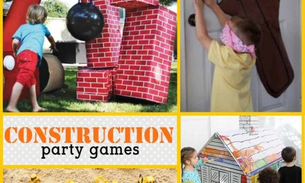 Construction Party: Construction-themed Party Games