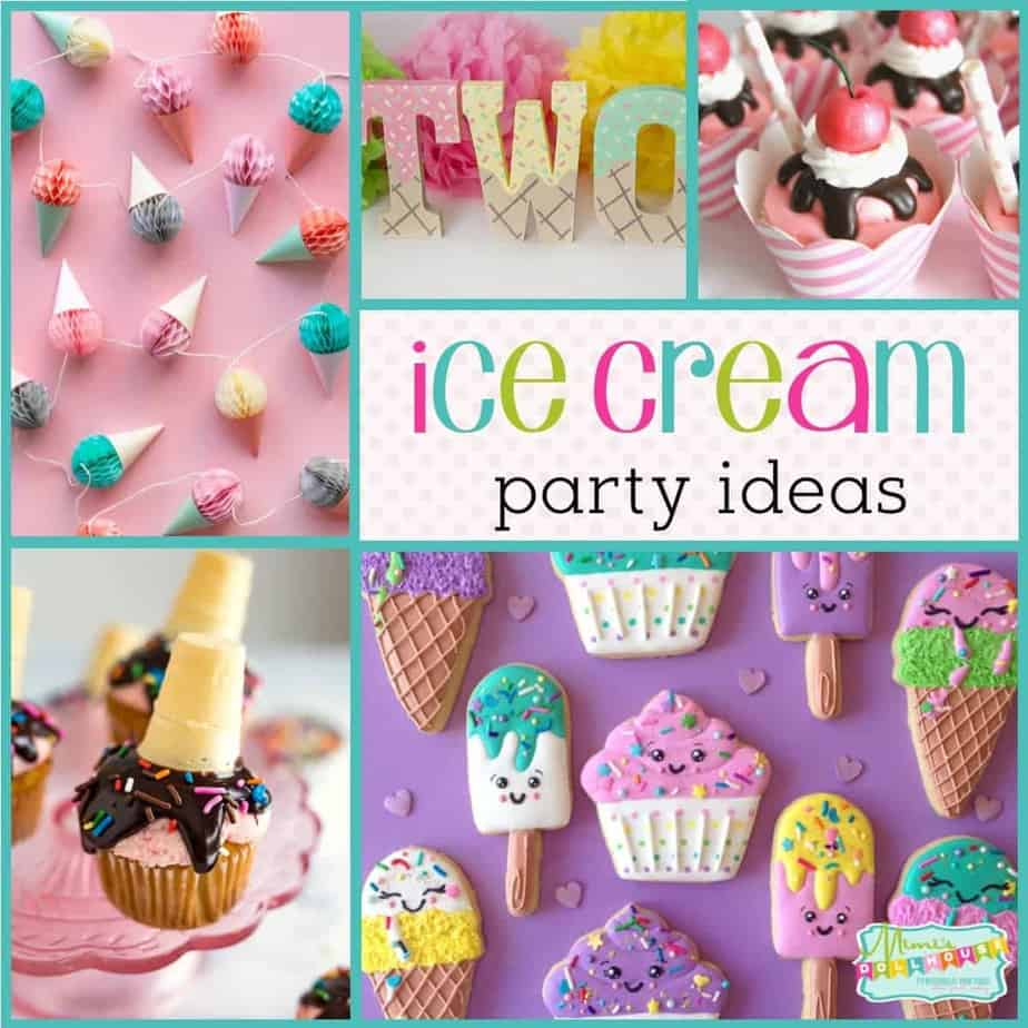 Summer Party Ideas How To Throw An Ice Cream Party Mimi