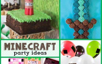 Minecraft Birthday Party: Ideas for a Minecraft Birthday