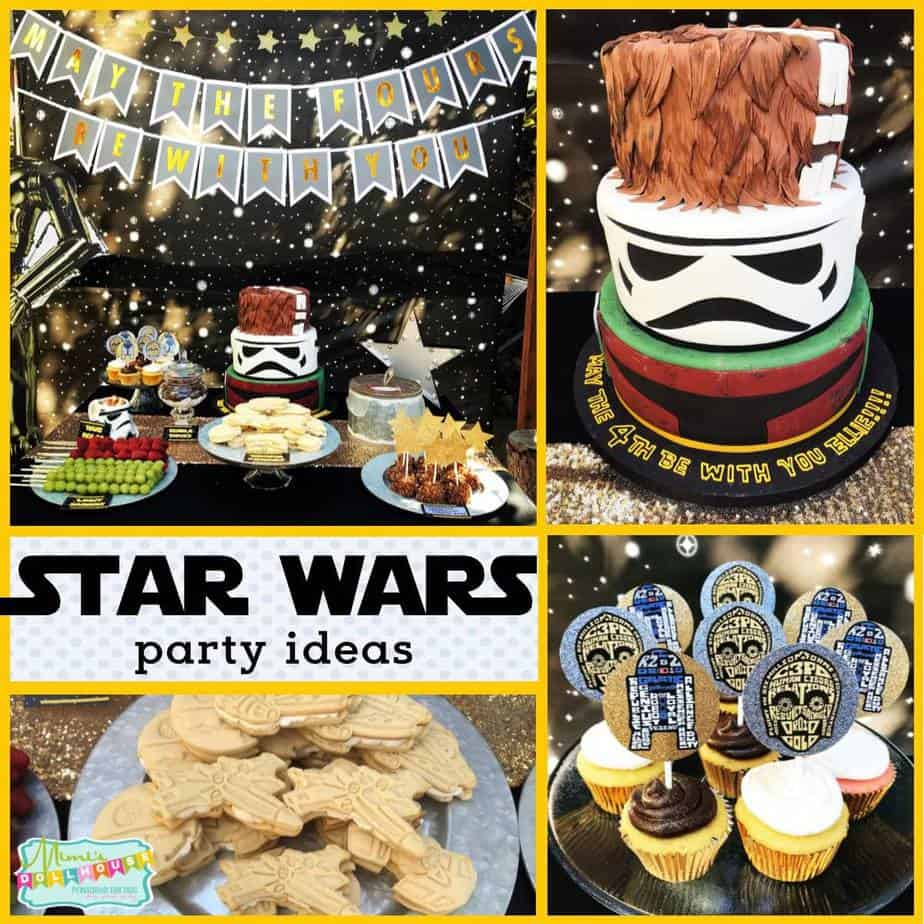 May The Fourth Be With You Party Supplies: Star Wars Party Decorations: May The FOURS Be With You