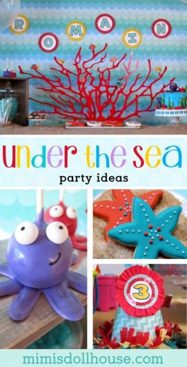 Looking for some amazing under the sea party ideas? This party is full of ocean party ideas, under the sea party food, under the sea party decorations and more!