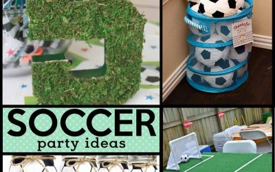 Soccer Birthday Party: Futbol Birthday Party Ideas