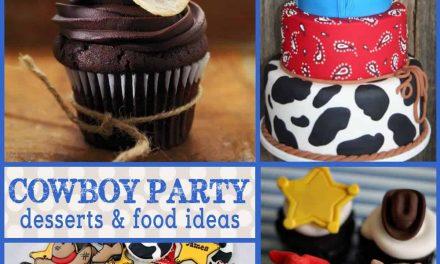 Cowboy Birthday Party: Cowboy Themed Desserts
