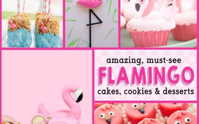 Flamingo Birthday Cakes & Flamingo Baby Shower Desserts