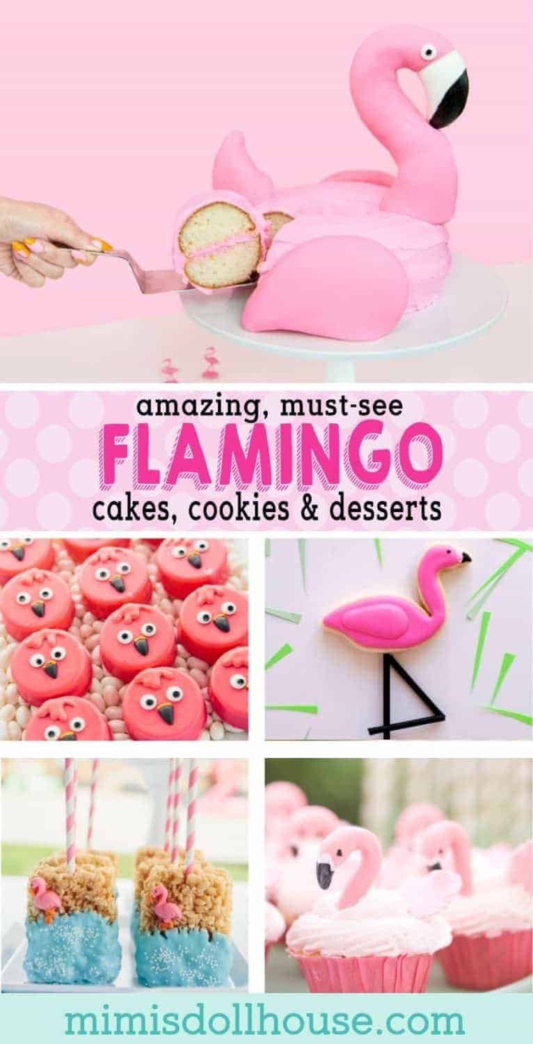 Want to throw the hottest party of the season? Style your next baby shower or birthday party flamingo style with these cute flamingo birthday cake ideas and flamingo baby shower desserts.  Looking for a sweetly styled pink flamingo party?  Be sure to also check out our diy flamingo party ideas and flamingo party themes.
