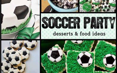 Soccer Party: 10 Game Winning Soccer Desserts