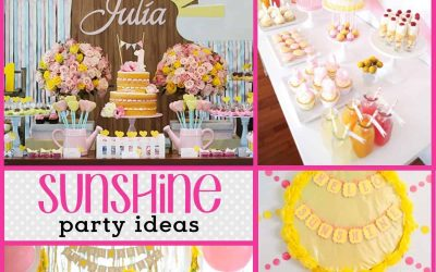 Sunshine Party: 10 You Are My Sunshine Parties you will LOVE