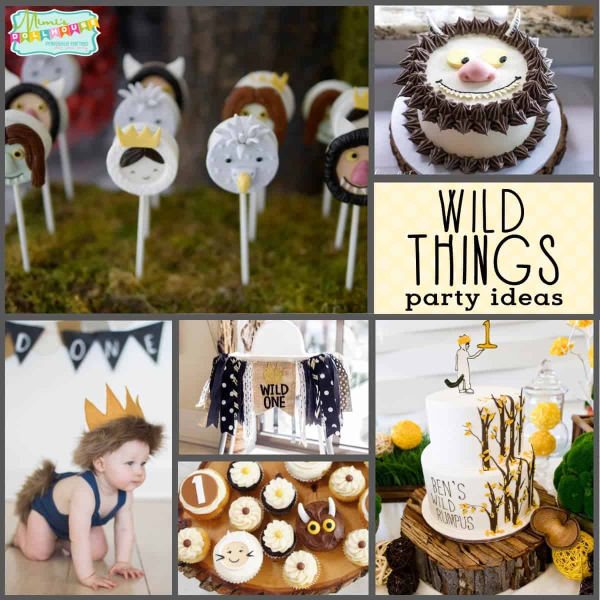 Wild One Birthday Party Where The Wild Things Are Cake